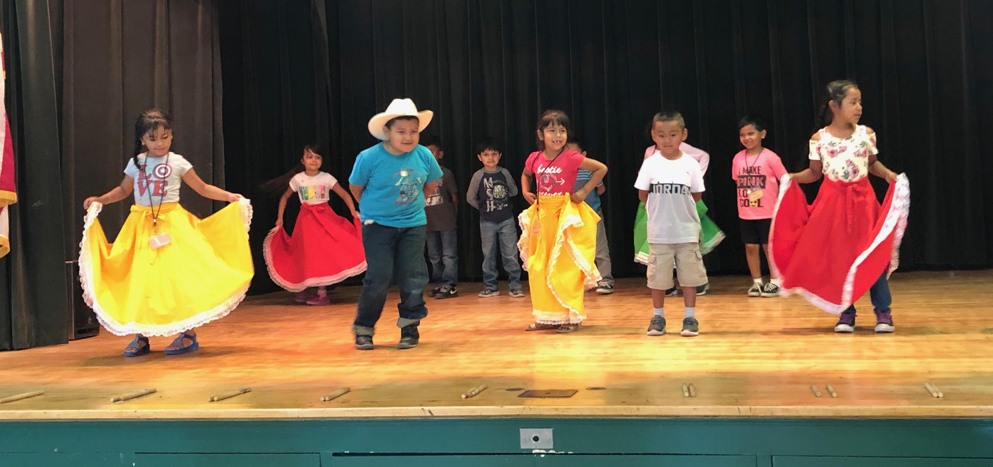 West Fresno Students Participate in Summer School Folklorico