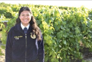 Ag Scholarship Award Winner Ashley Arellano