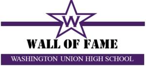 WUHS Wall of Fame Logo