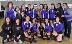 WUHS Girls Varsity Volleyball Team