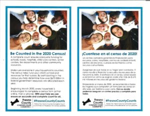 This flyerencourages all families to participate in the 2020 Census.